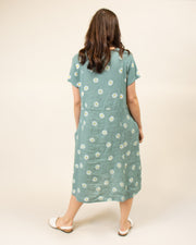 Italian Linen Daisy Dress
