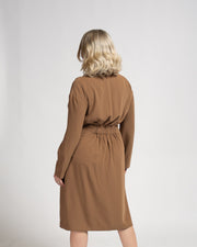Long Sleeve, Front Tie Dress