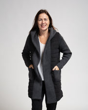 Quilted Knit Jacket (3 Colours)