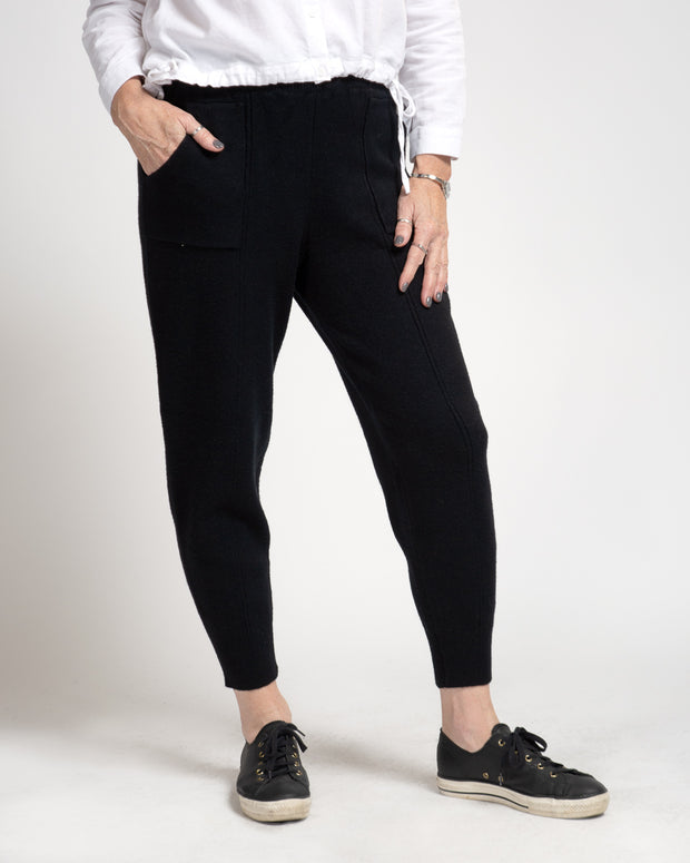 Tailored Sweatpant - Black
