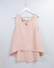 Bella Tank in Powder Pink