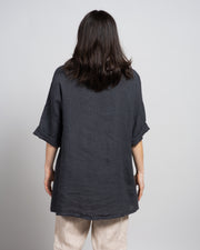 Tasca Tunic in Dark Grey