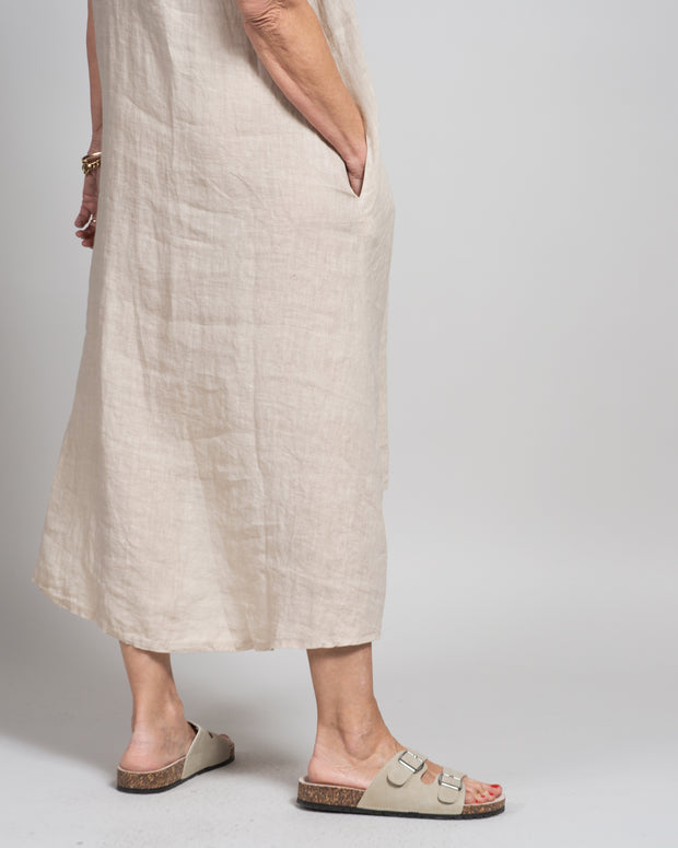 Flauto Dress in Sand