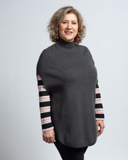 Sleeveless Tunic - Dark Grey