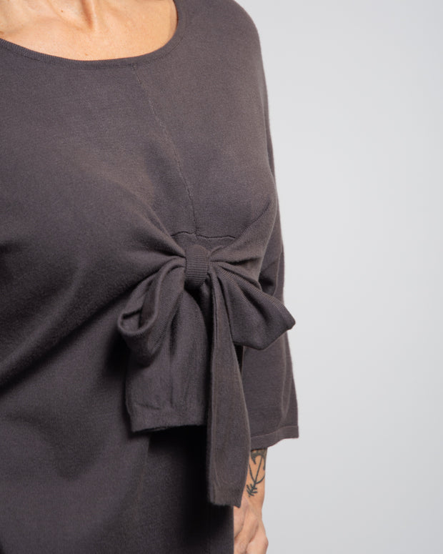 Front Bow Oversized Tee