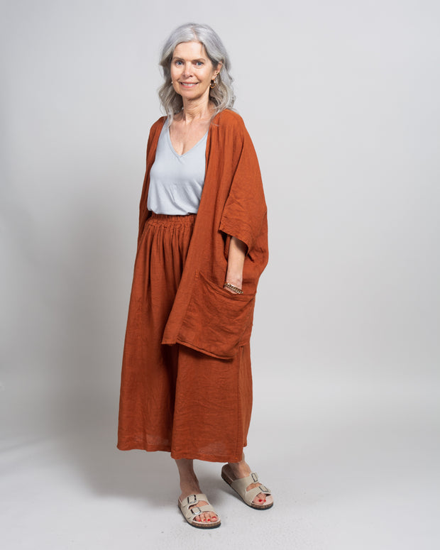 Corazza Robe in Baked Clay