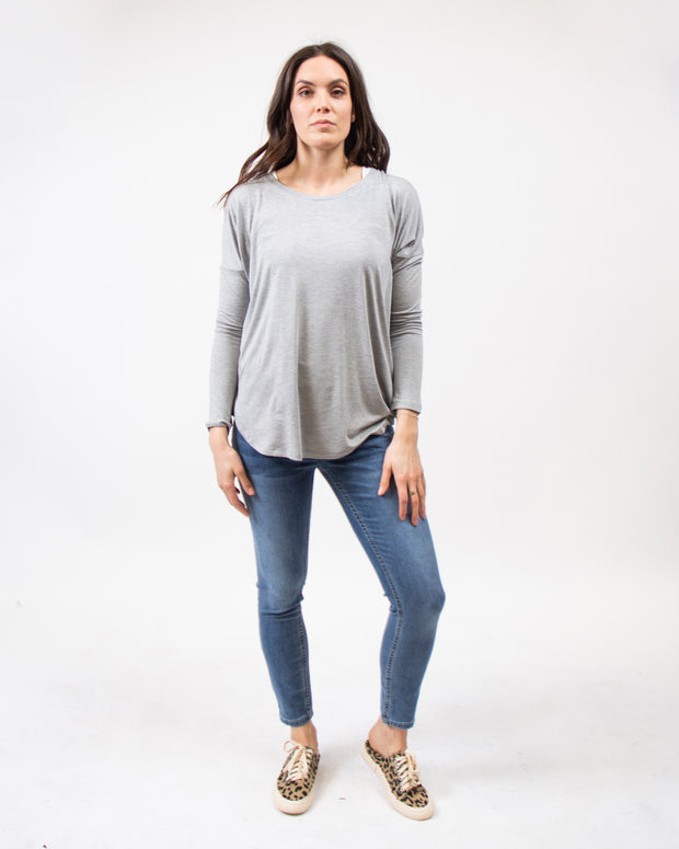 THE CORE  MODAL LONG SLEEVE