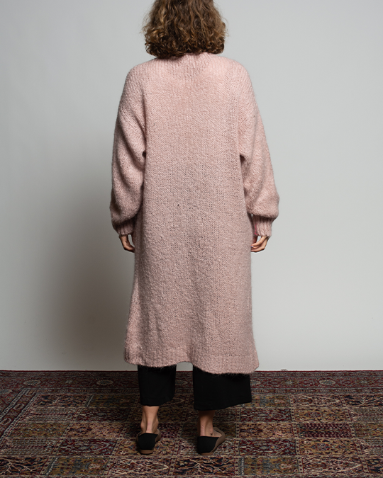 THE CORE MOHAIR CARDIGAN