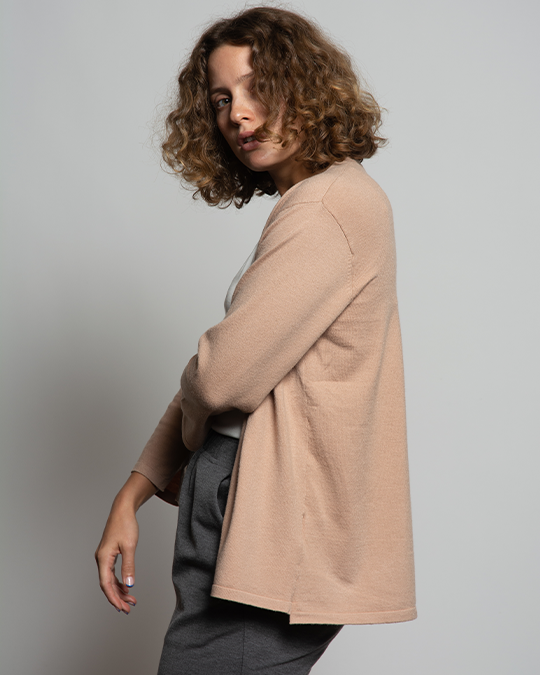 THE CORE CROPPED CARDIGAN