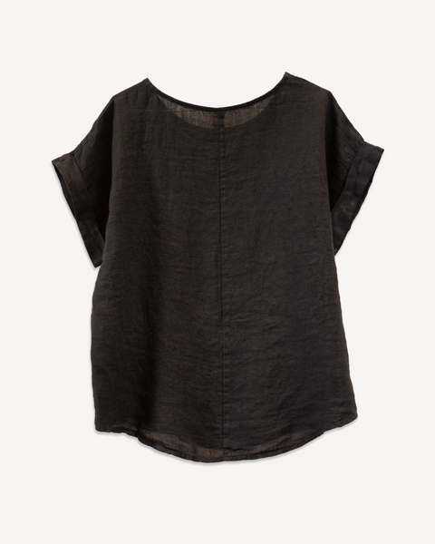 Scatola Top in Black