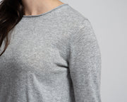 Basic Knit Pullover - Grey