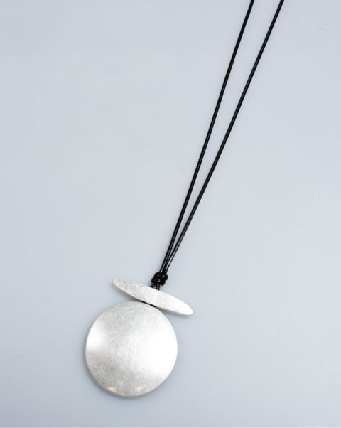 Silver Plate Pendant Necklace
