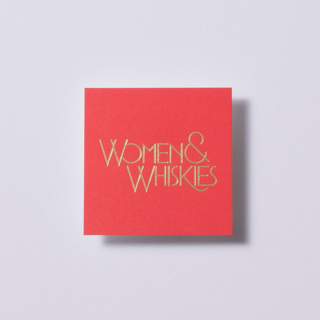 Women & Whiskies Business Cards