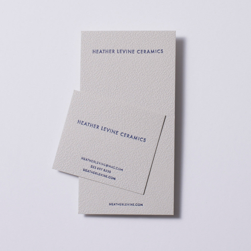 Heather Levine Business Collateral