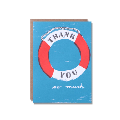 life preserver thank you