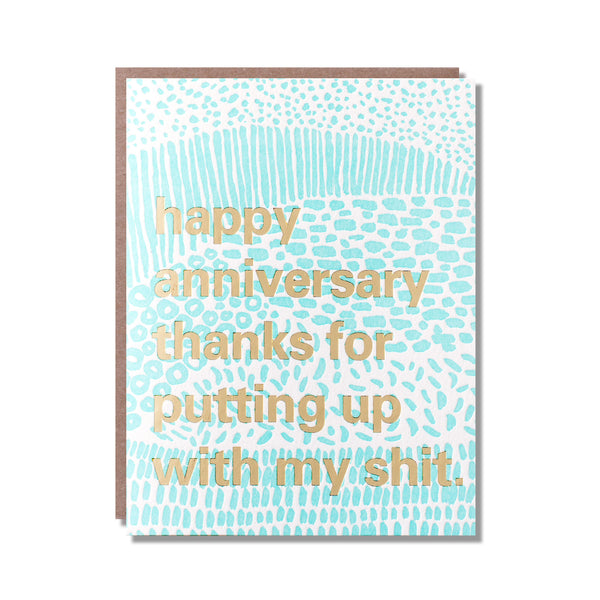 put up anniversary