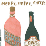 merry, happy, cheer