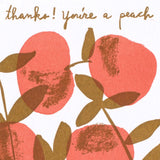 peach tree thank you
