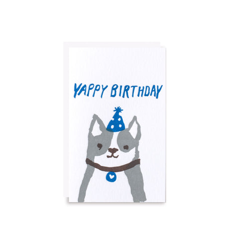 yappy birthday gift card
