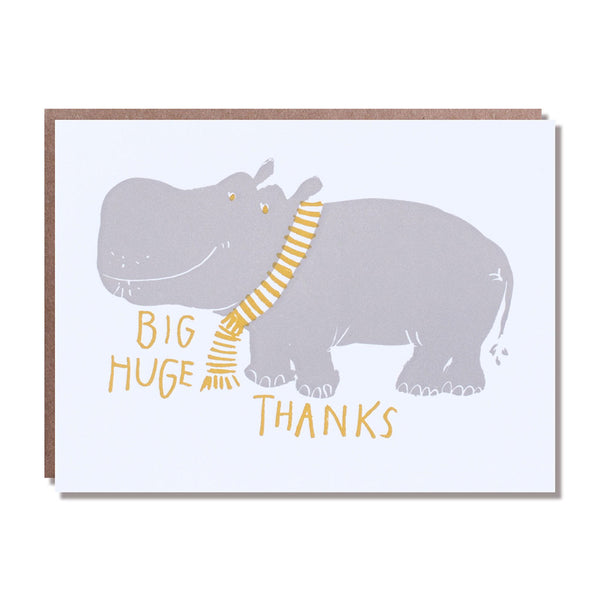 hippo big thanks