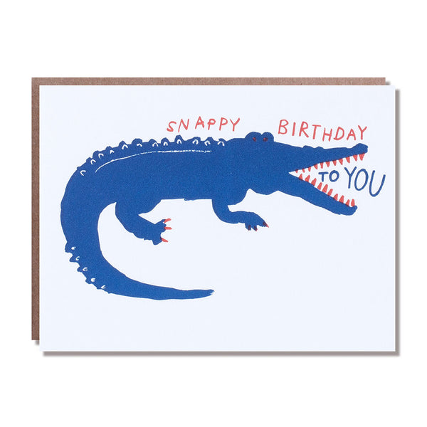 alligator snappy birthday