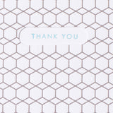 hex pattern thank you