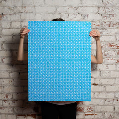 triangle grid gift wrap
