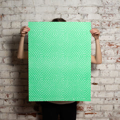 green dot gift wrap
