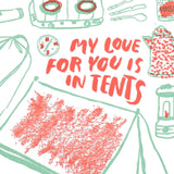 love for you is in tents