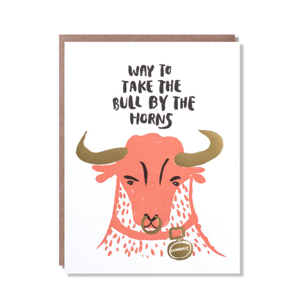 bull by the horns