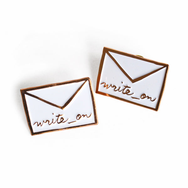 Write_On Enamel Pin