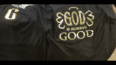 Godly Creations Clothing's Men's God Is Always Good Christian T Shirt
