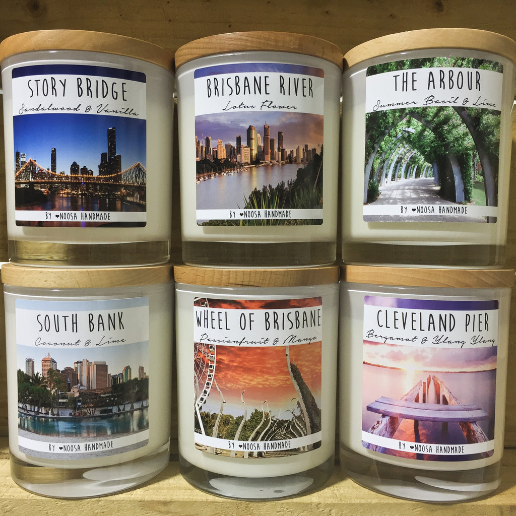 Brisbane Jar Candles - Noosa Handmade