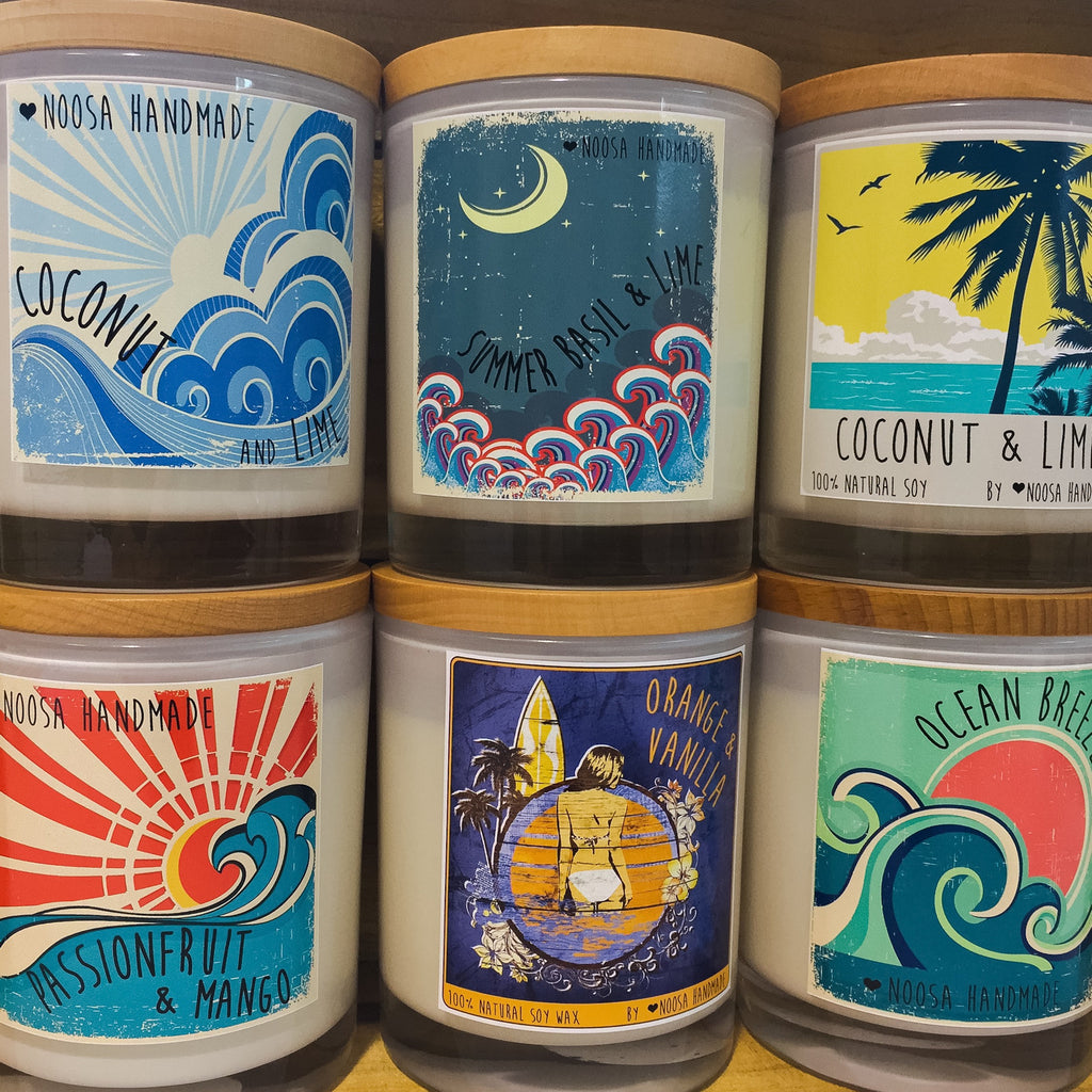 VINTAGE SURF Jar Candles