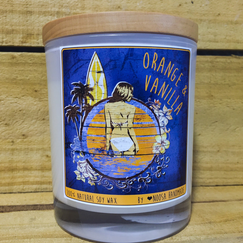 VINTAGE SURF Jar Candles - Noosa Handmade