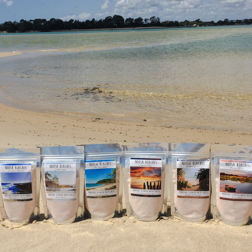 NOOSA - Little Cove Bath Salts - Noosa Handmade