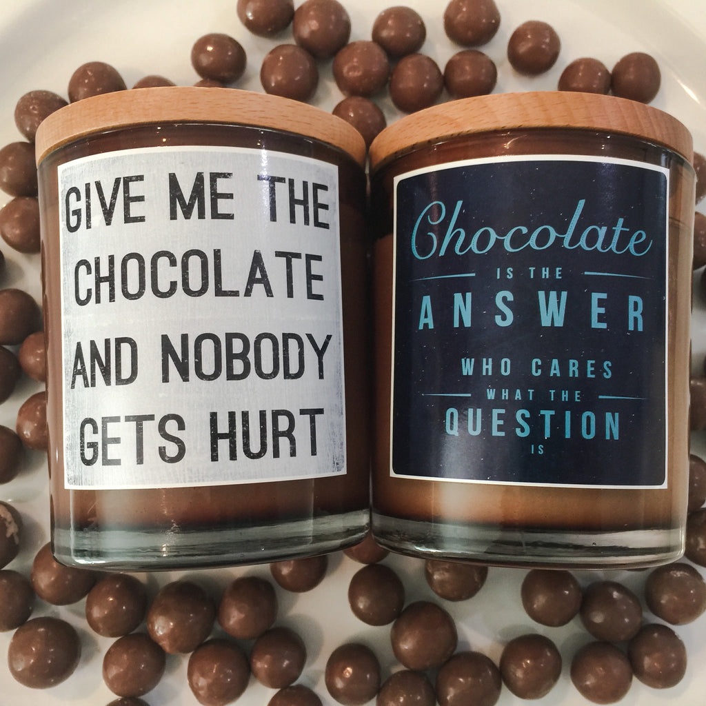 Chocolate Candle - Noosa Handmade