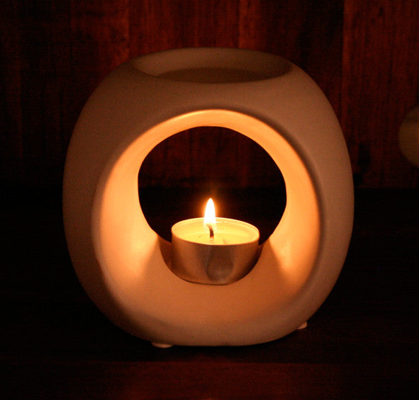Ceramic Burner White
