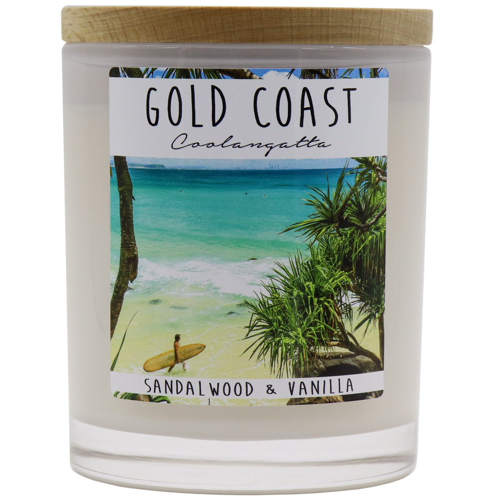 GOLD COAST - Coolangatta Jar Candle - Noosa Handmade