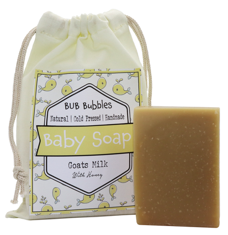 Baby Soap - Bub bubbles with Honey