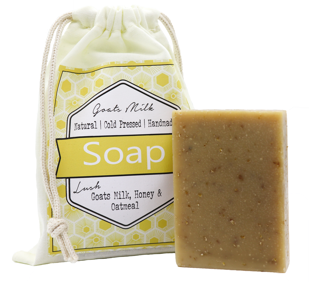 Goats Milk & Honey Soap - Noosa Handmade