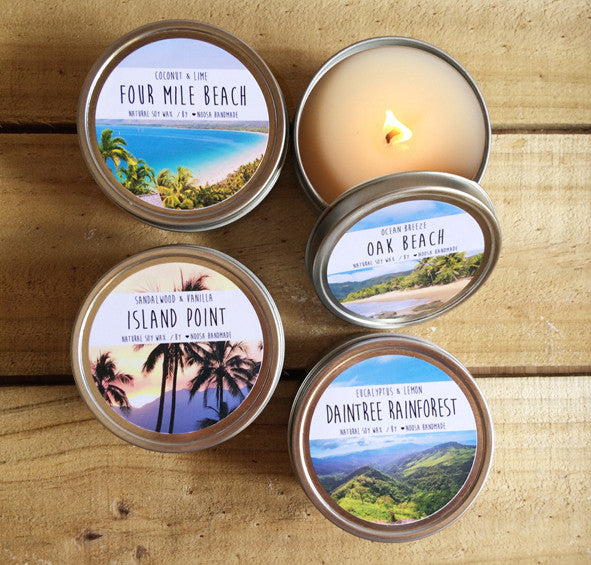 Port Douglas Tin Candle - Noosa Handmade