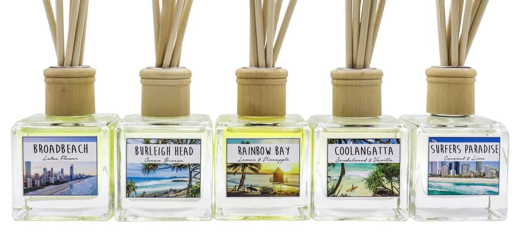 GOLD COAST - Rainbow Bay Reed Diffuser - Noosa Handmade