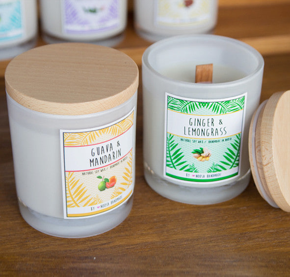 Basis Jar Candles - Noosa Handmade