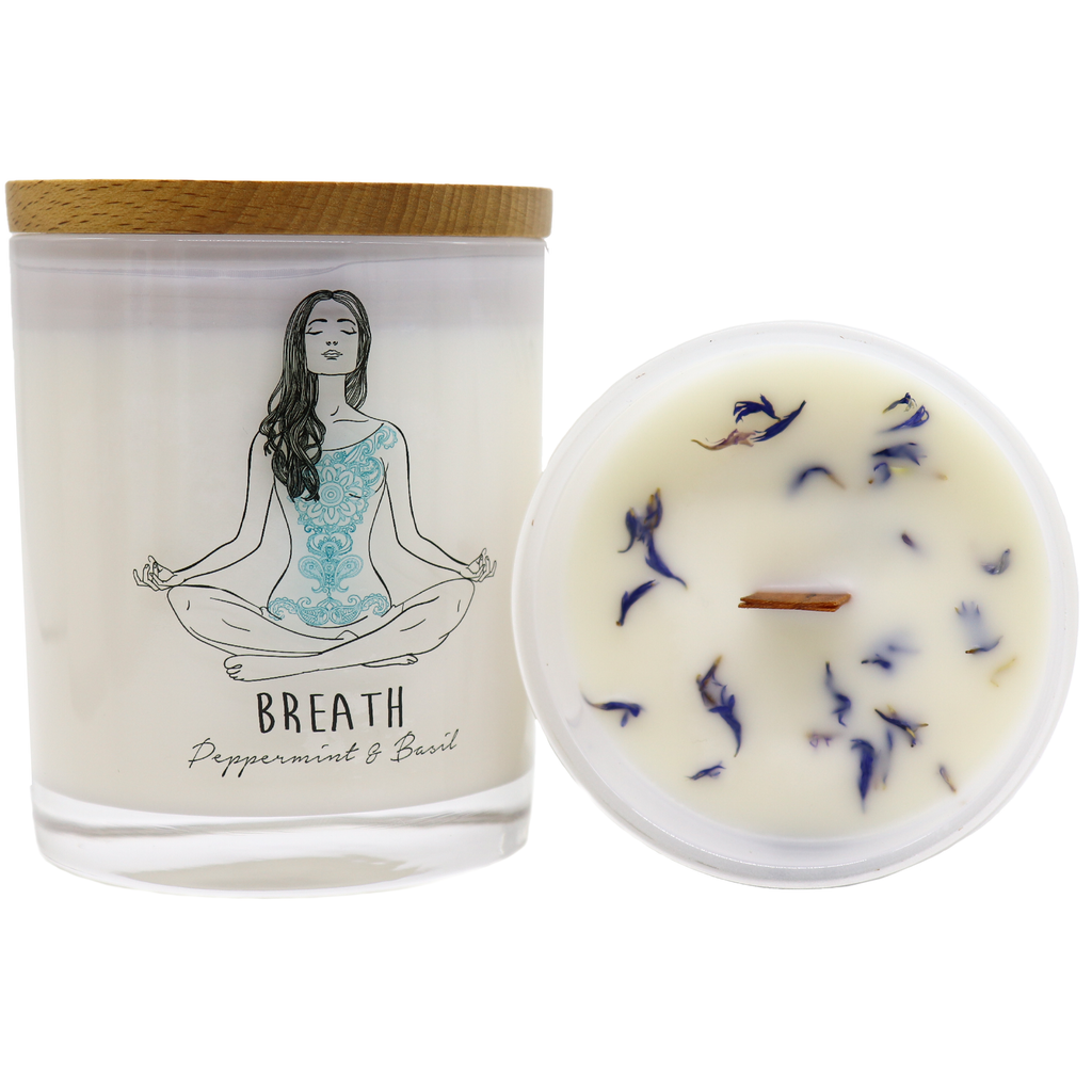 Yoga Jar Candle - BREATH - Noosa Handmade