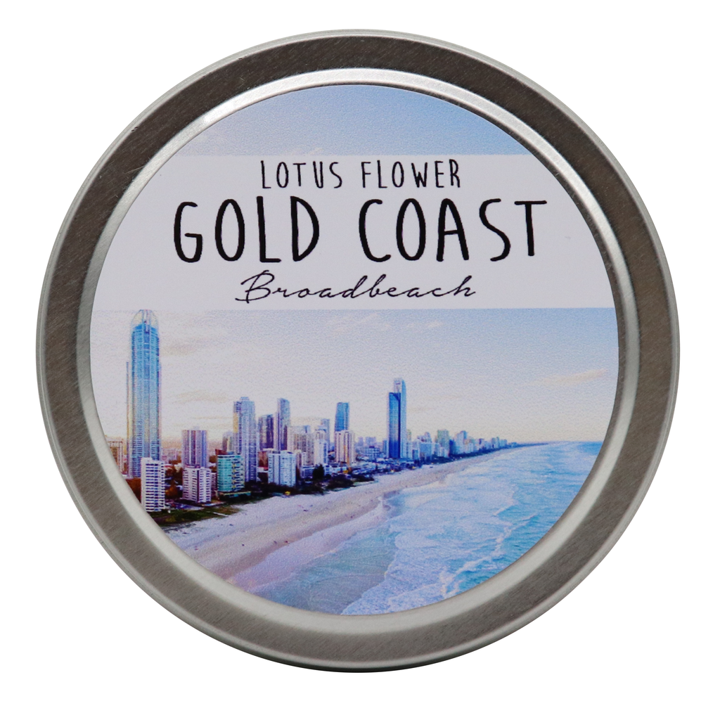 GOLD COAST - Broadbeach Tin Candles - Noosa Handmade