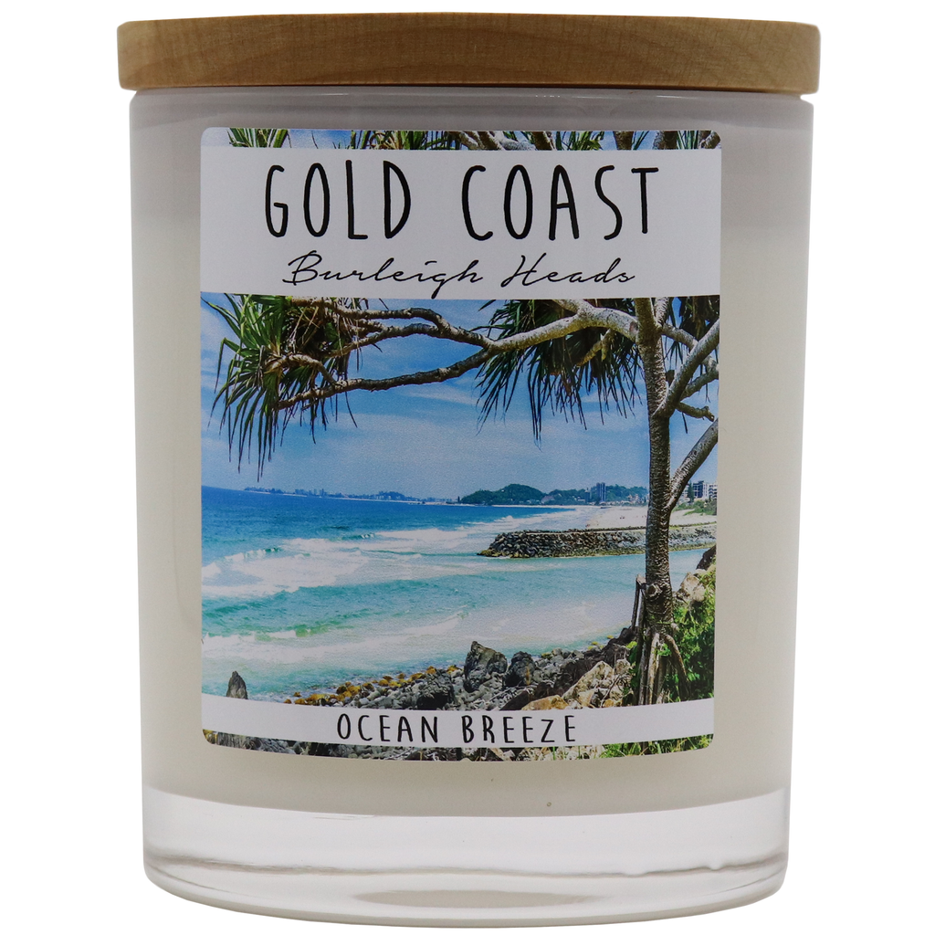 GOLD COAST - Burleigh Heads Jar Candle - Noosa Handmade