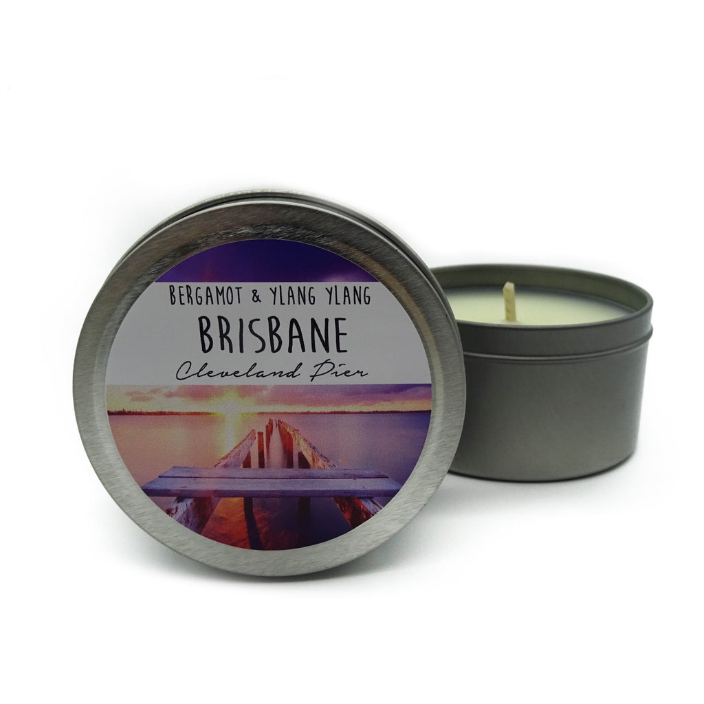 Brisbane Tin Candles - Noosa Handmade