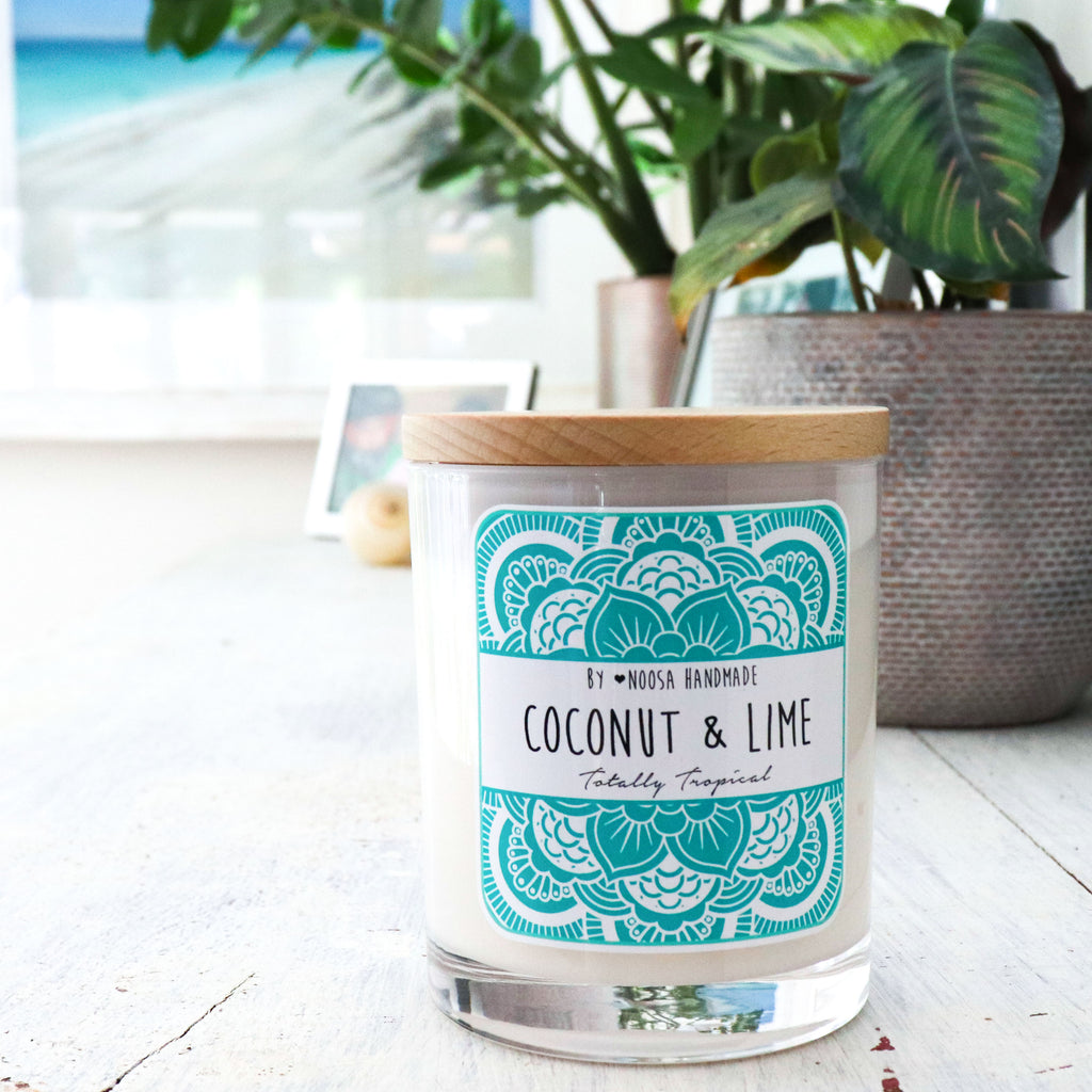 Senses Jar Candles - Coconut & Lime