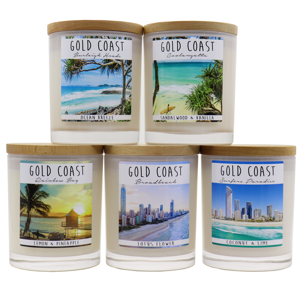 GOLD COAST - Rainbow Bay Jar Candle - Noosa Handmade